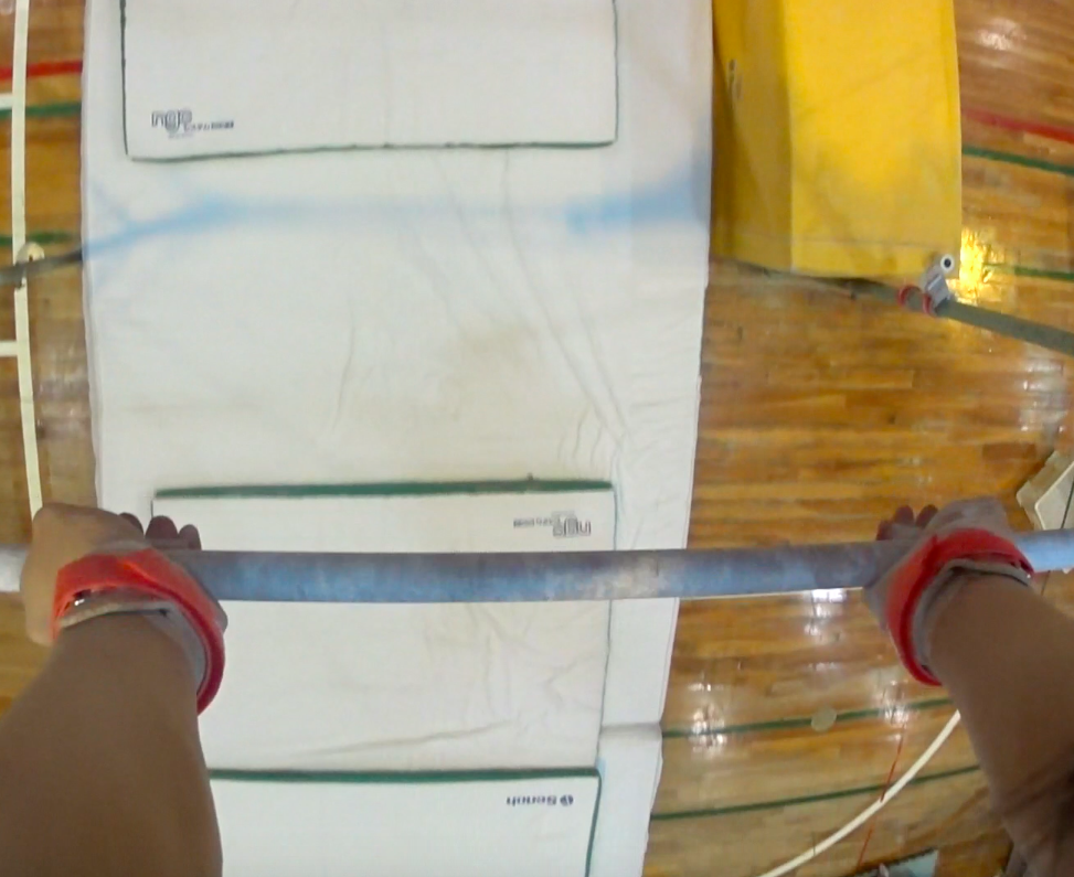 アクションカムで体操選手視点の鉄棒を撮ってみた。一般人は絶対酔う!