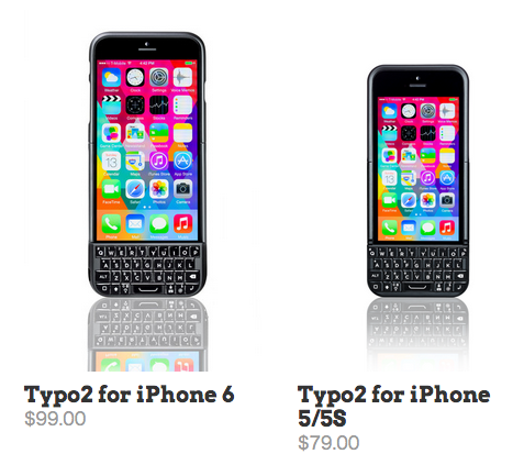 Blackberry が 「また」Typo を起訴。BlackBerry の キーボードを搭載した iPhoneケースの行方は?