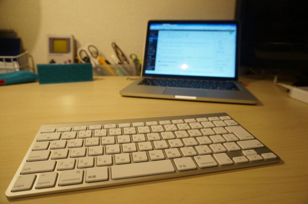 Apple Wireless Keyboard レビュー。Mac & iPad の自宅用キーボードとして最適