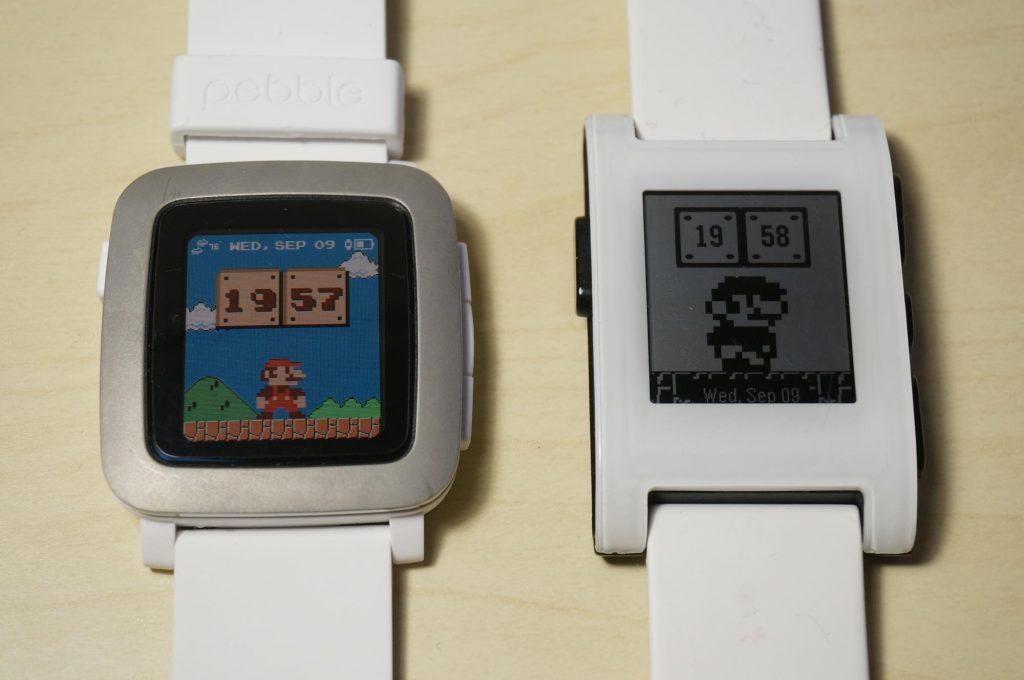 Pebble Time と初代Pebble を比較!本当に選ぶべき Pebble はどっち?