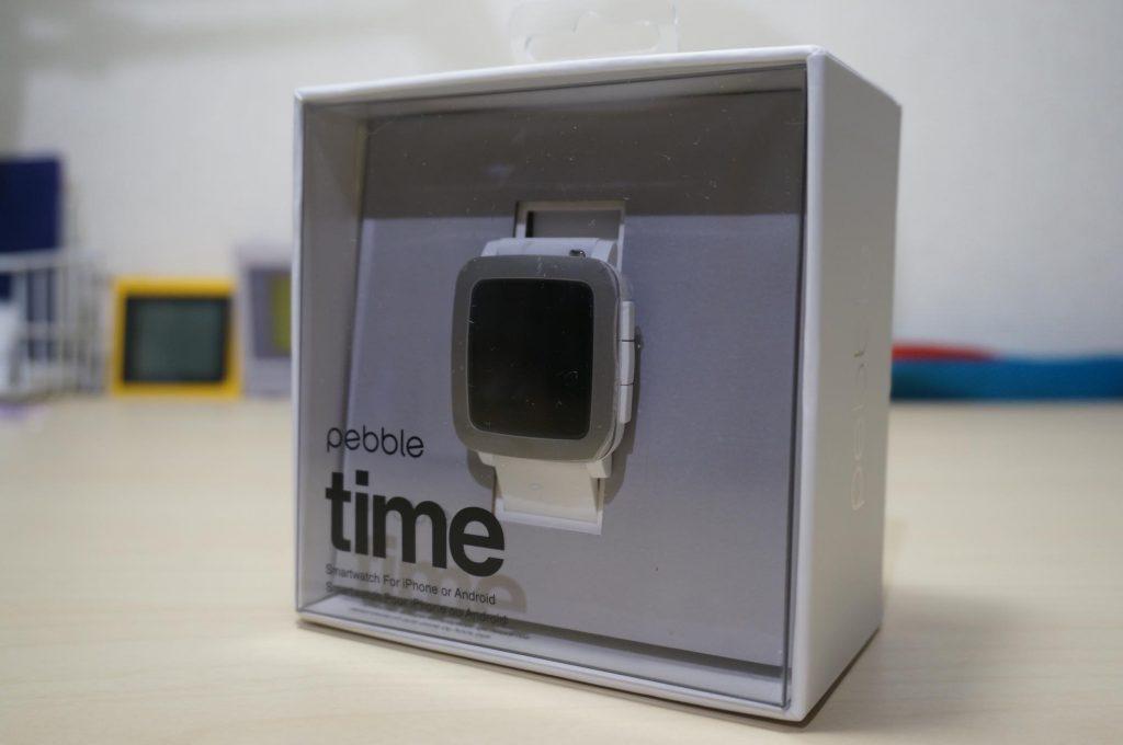 【Pebble Time】アマゾンで17,500円(中古)で購入した Pebble Time が届きました。レビューや設定など