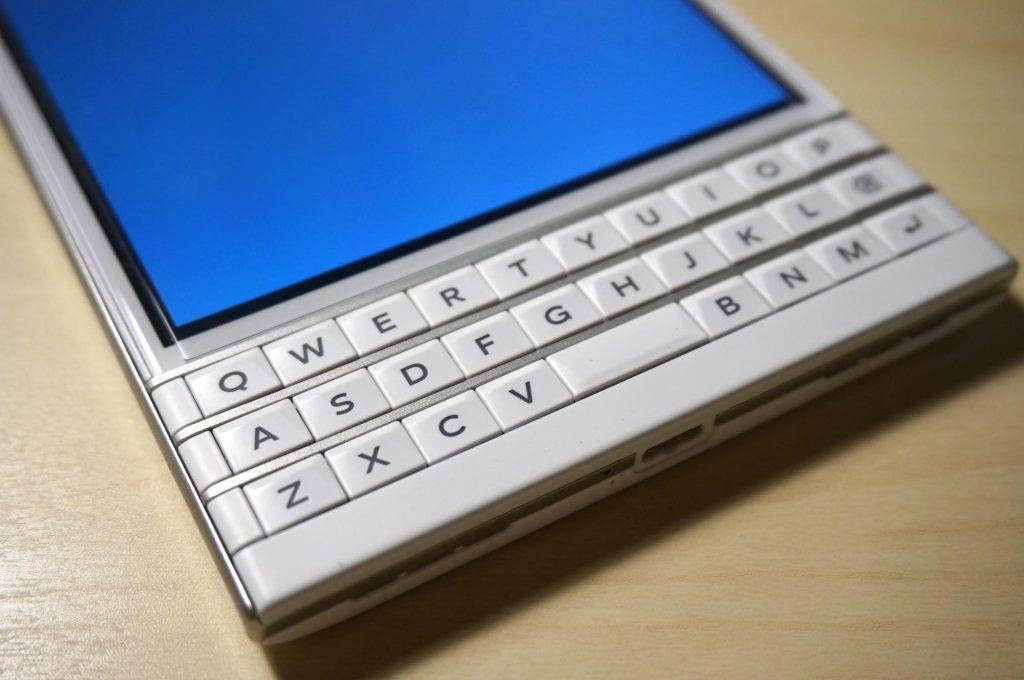 【BlackBerry Passport】気になるキーボードレビュー、日本語入力や変換ってどうなの?