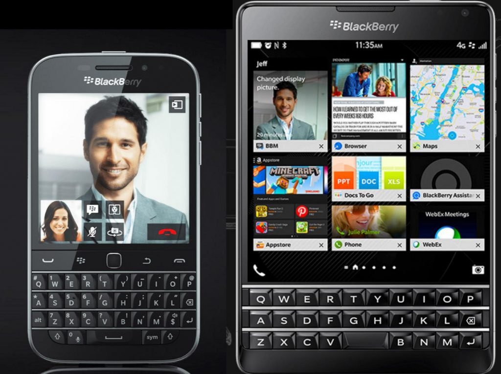 BlackBerry Passport と Classic どっちを買うべき?スペックやキーボードで比較してみた