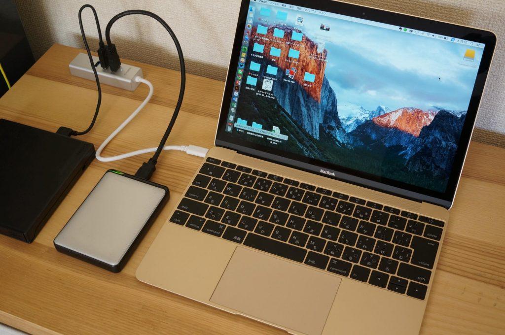 【MacBook】USB Type-C 向けの USB3.0 ハブ&有線LANポートレビュー
