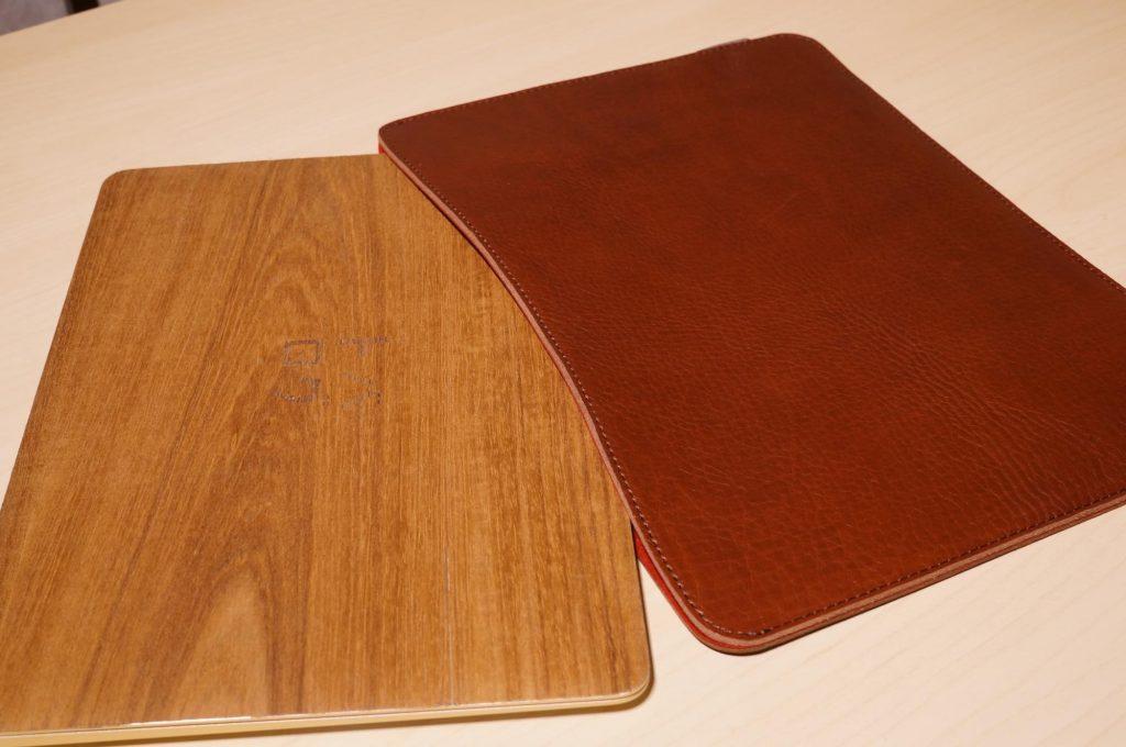 【12インチMacBook】革のシボ感がたまらない!国立商店のレザースリーブケース