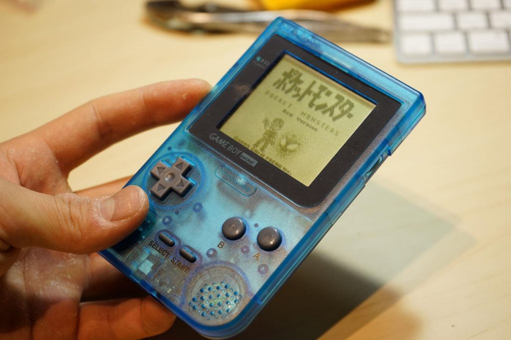 【DIY】1,000円でゲームボーイポケットを日本未発売カラーに換装してみる