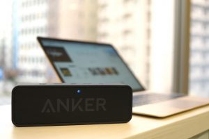 anker-soundcoreを Macbook に接続したところ