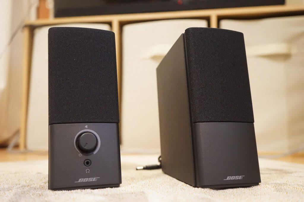 1万円ちょっとで買える Bose のスピーカー「Companion2 Series III」購入レビュー!TVに繋いで Fire TV を高音質で
