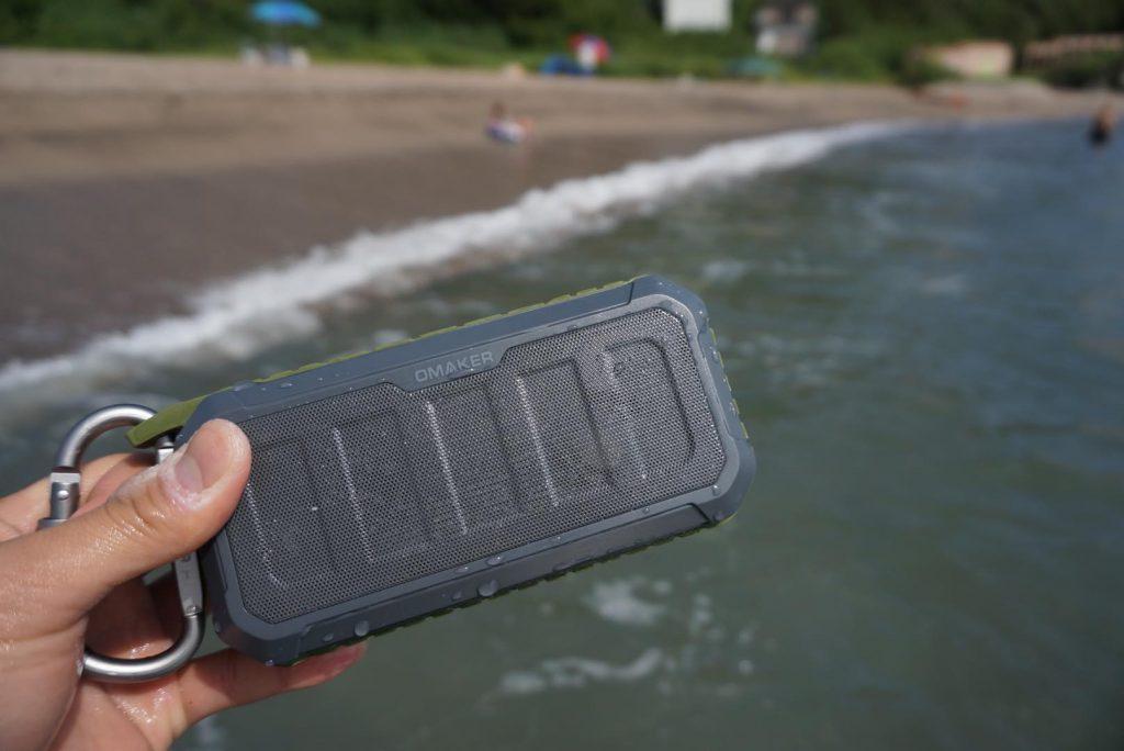 10W出力でパワフル!水に浮く防水Bluetooth  スピーカー『OmakerM5』レビュー