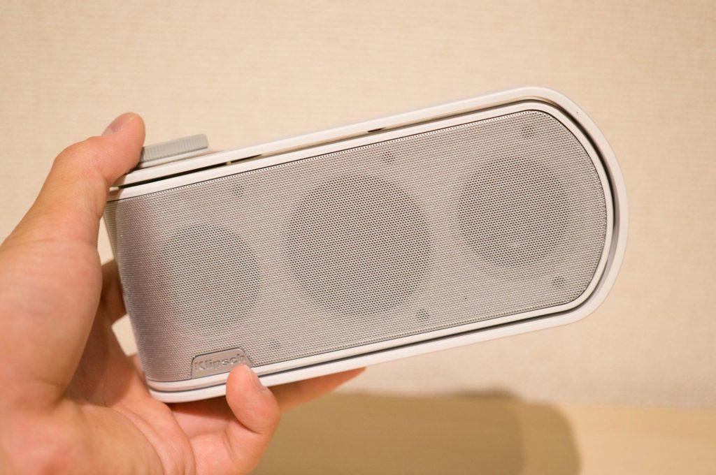ディープで重厚感のある音を奏でる Bluetooth スピーカー「Klipsch GiG」。ジャズやボサノバなどにオススメ
