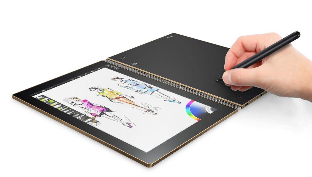 レノボの2in1タブレット「Yoga Book」はここが面白い!ペンタブにもキーボードにもなる変態仕様