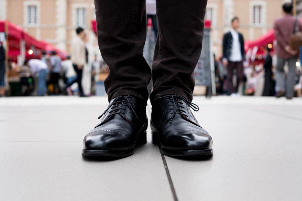 革靴を新調しました。日本人の足に合う「スコッチグレイン」のパンチドキャップトゥ