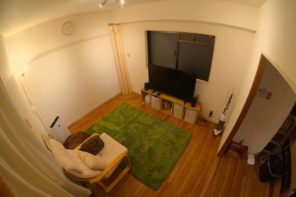 一人暮らしホームシアター:Amazonプライム・ビデオや Netflix を快適に観たくて引っ越しました。都内一人暮らしで簡易ホームシアターをつくりたい