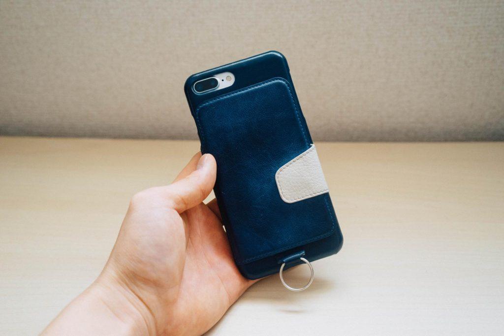 【iPhone 7 / 7 Plus】もう財布要らないかも。カードや札が収納できるレザーケース『RAKUNI』