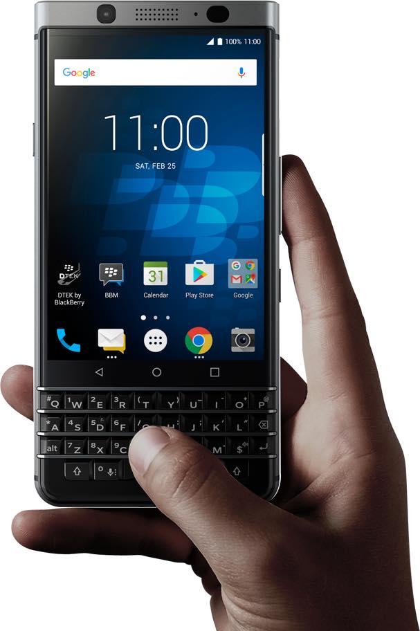 「BlackBerry KEYone」をエクスパンシスで仮予約しました。