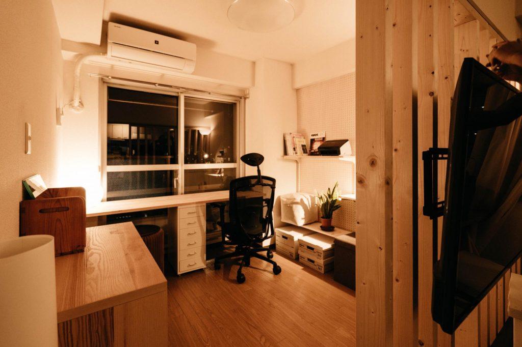 賃貸でも書斎のある暮らし①:憧れの書斎スペースをDIYで構築する