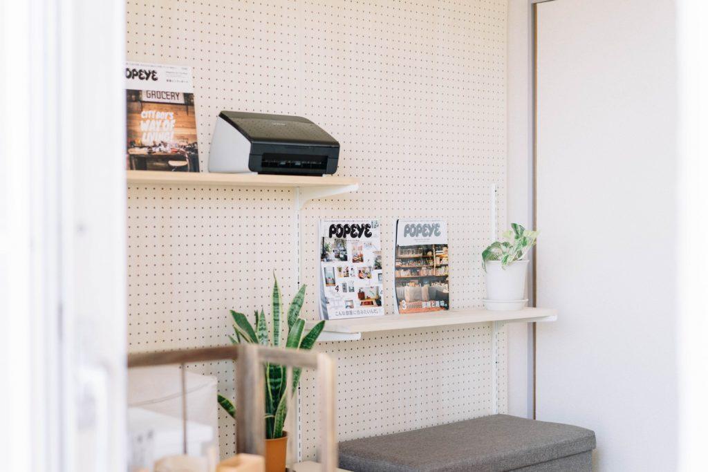 賃貸でも書斎のある暮らし③:ディアウォールと有孔ボードでおしゃれな収納棚をDIY