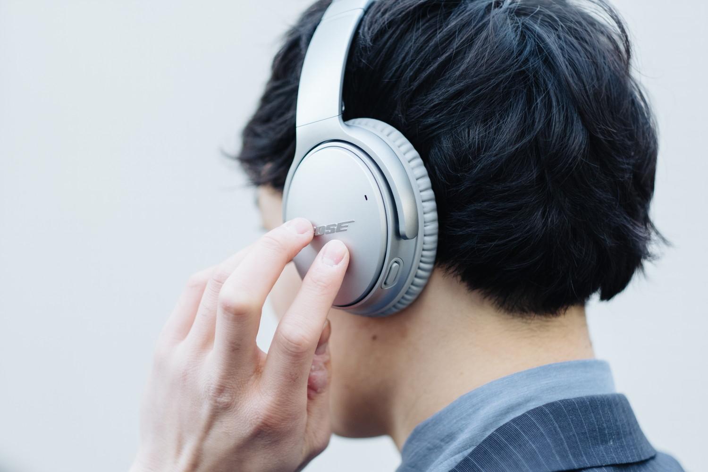 Bose のノイズキャンセリングヘッドホン『QuietComfort 35 wireless headphones II』を装着したところ