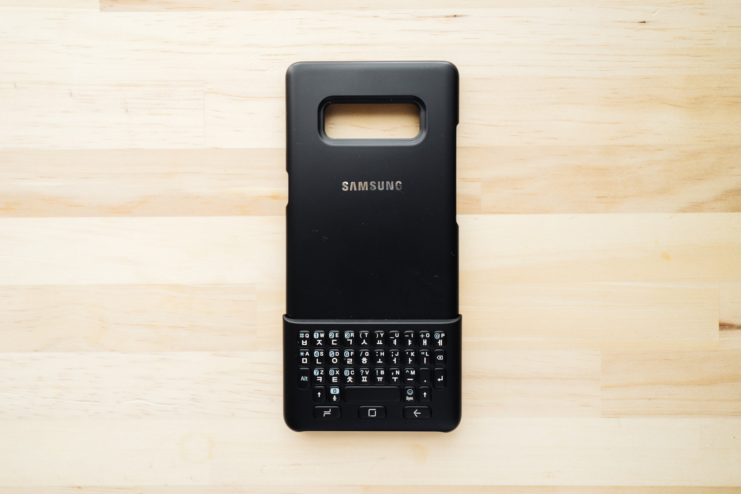 Galaxy Note8 のKeyboard Case レビュー
