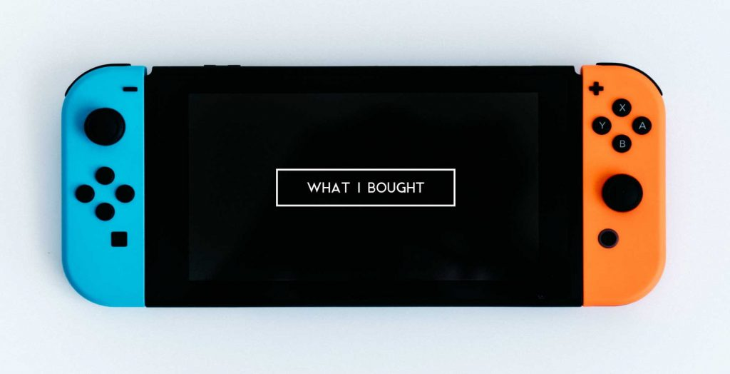 僕が11月に買ったモノ。Galaxy Note8 に Nintendo Switch、GPD Pocket など