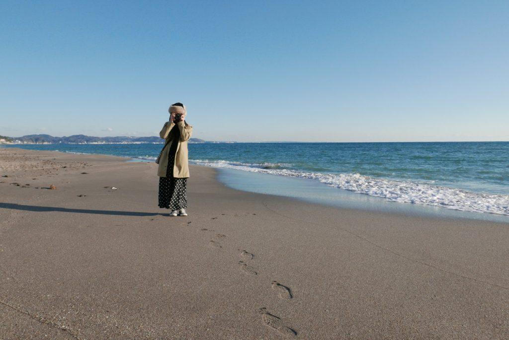 【湘南さんぽ】海と空と、ライカのコンデジ『D-LUX Typ-109』