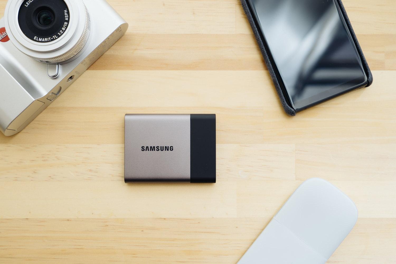ポータブル SSD『サムスン T3 500GB』レビュー