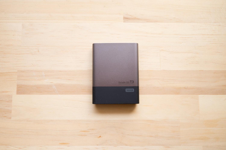 ポータブル SSD『サムスン T3 500GB』