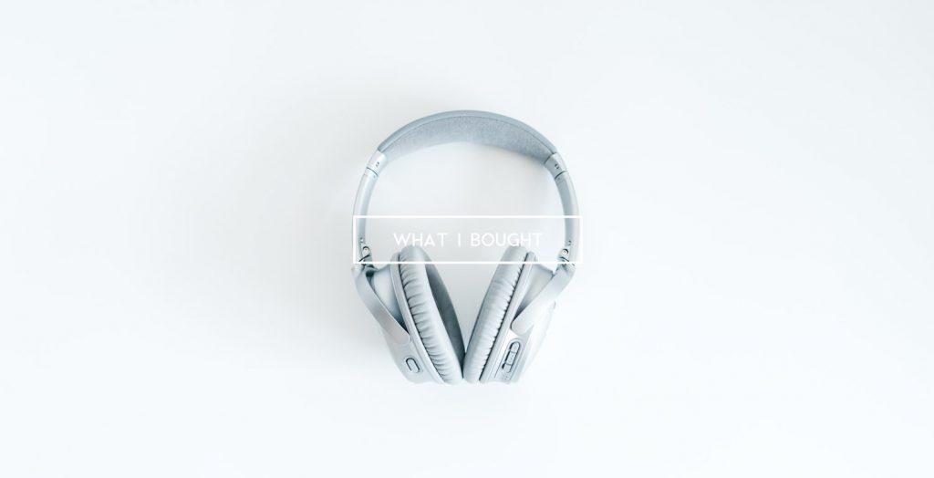 僕が12月と1月に買ったモノ:Bose のヘッドホンやクラシックなショルダーバッグ他