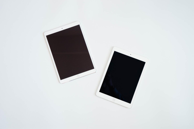 9.7インチ iPad Pro と10.5インチ iPad Pro