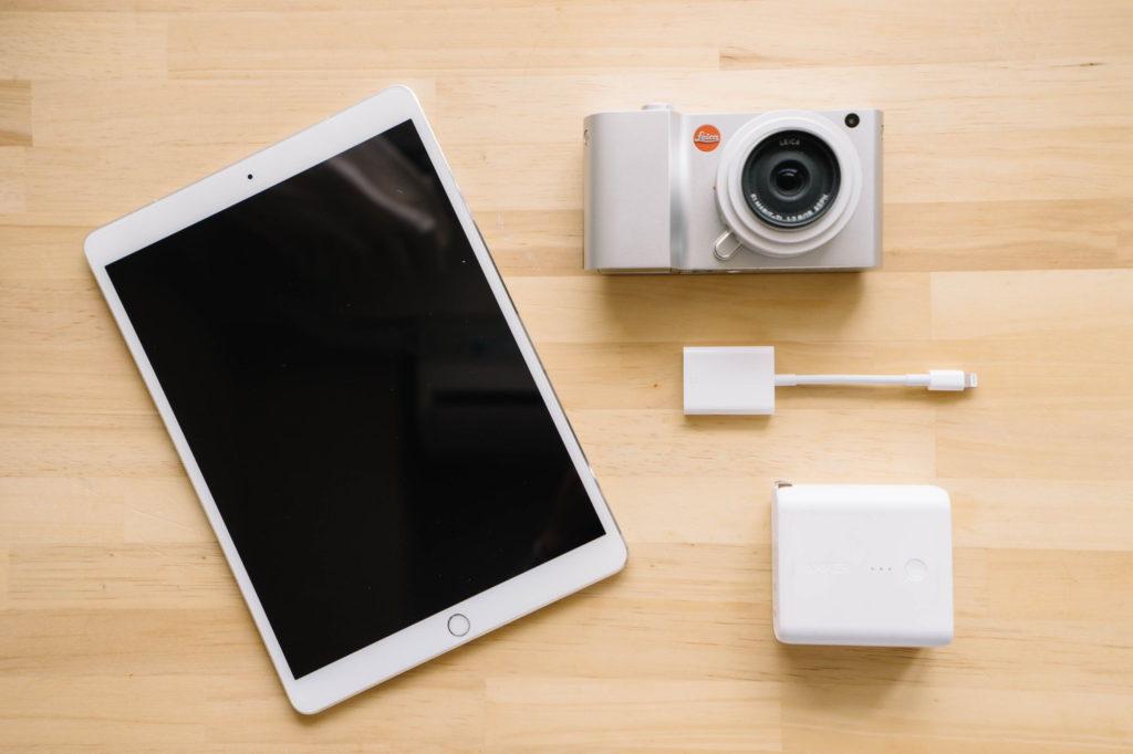 10.5 インチの iPad Pro を買いました。カメラと iPad だけを持ってブログを書きたい