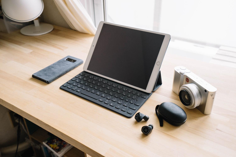 10.5 インチの iPad Pro でブログを書く