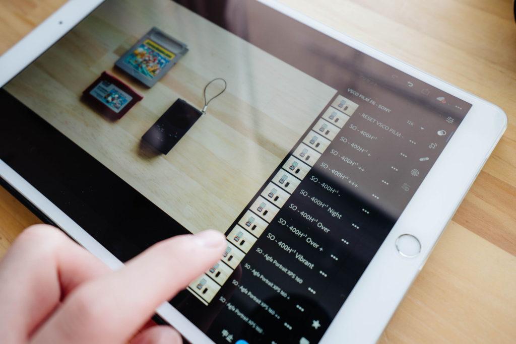【Lightroom CC】iPadやiPhoneでVSCOなどデスクトップ版のプリセットを使う方法と手順