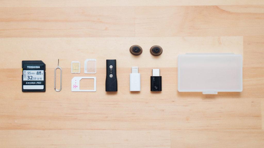シンプル、最適。無印良品の『ヘアピンケース』が SIM や SDカードの収納にぴったり