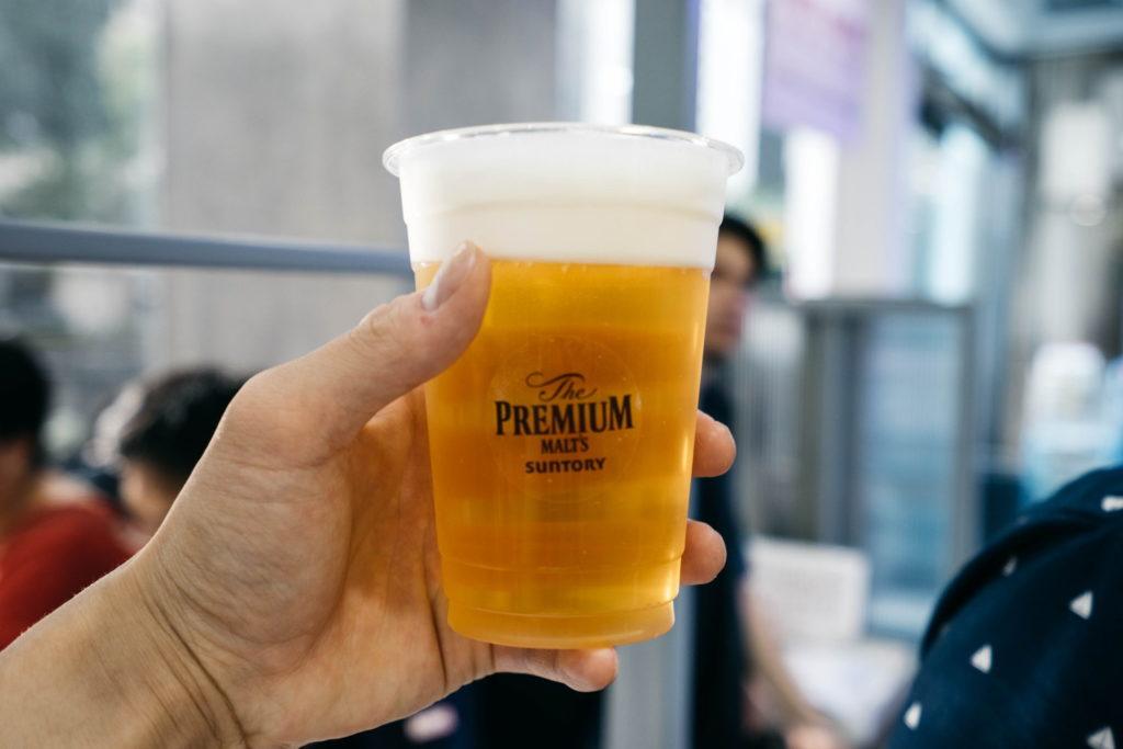 7月13日からセブンイレブンの一部店舗で生ビールが飲めるように。実際に飲んでみた感想とか@台北