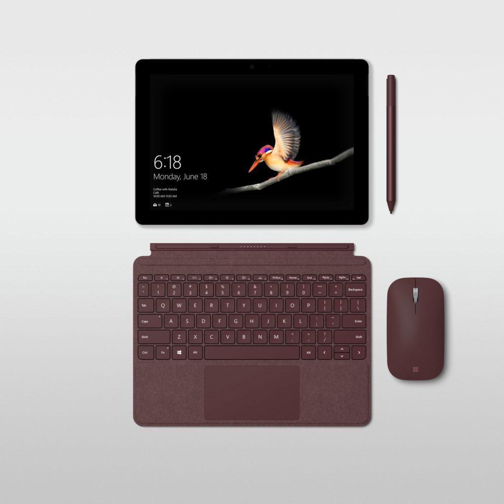 Surface Go がサイズ的にも性能的にも良さそう。iPad Pro との使い分けとか考えてみる。
