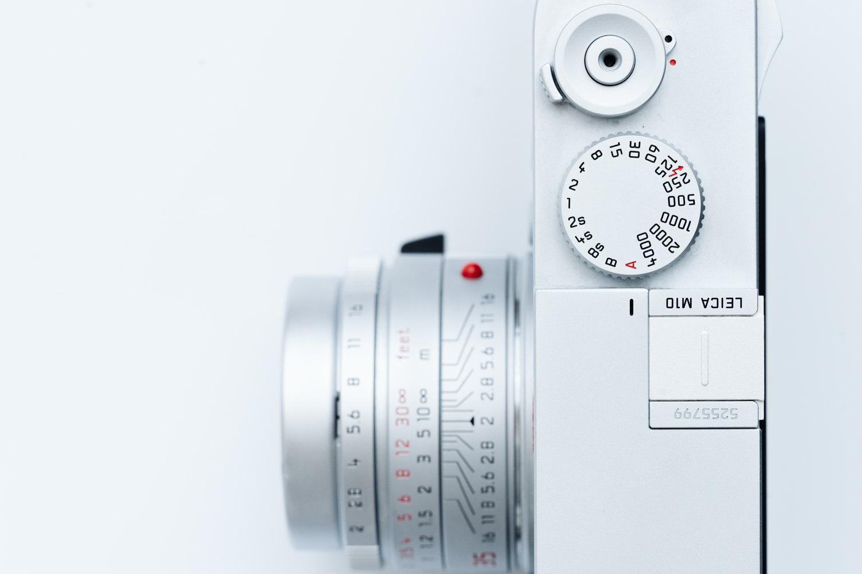 Leica M10 のシャッタースピードダイヤル