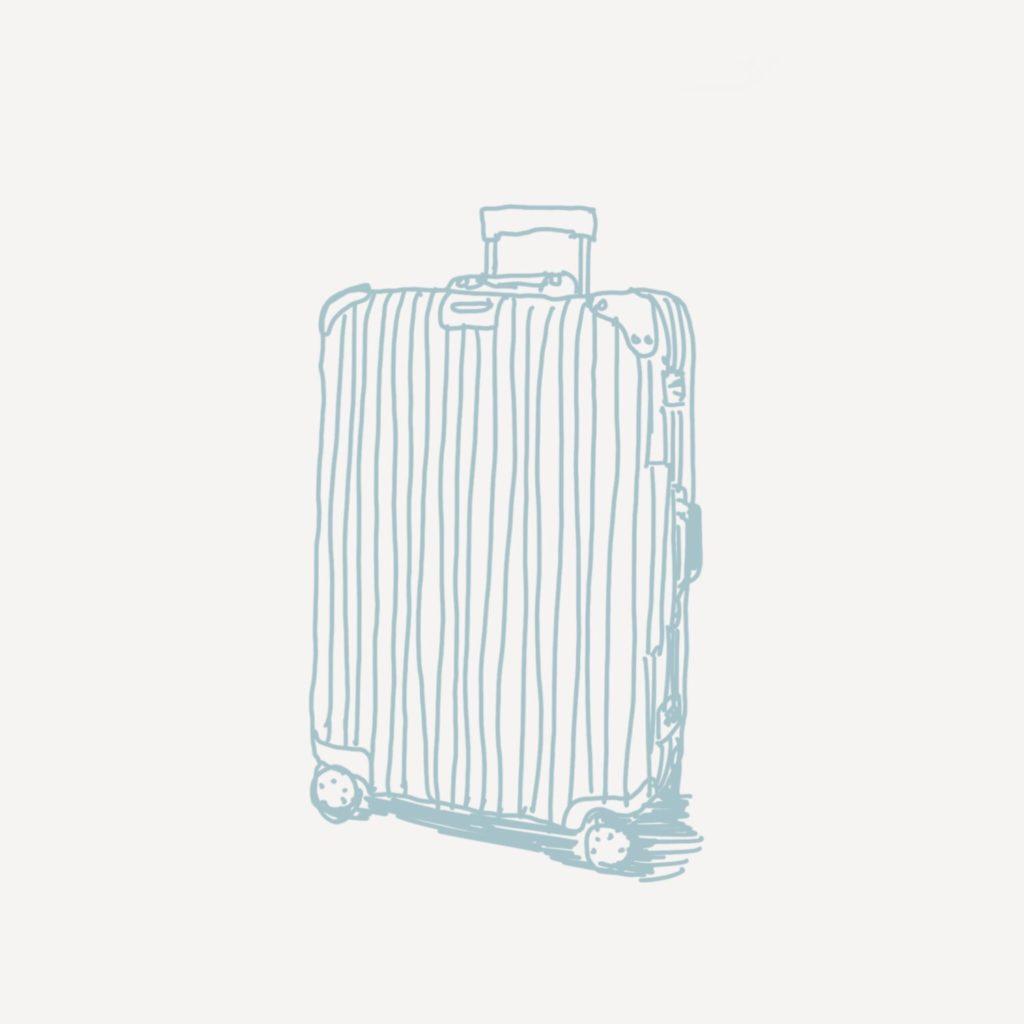 スーツケースが欲しい話。機内持ち込み用と長期滞在用をどうするか迷う