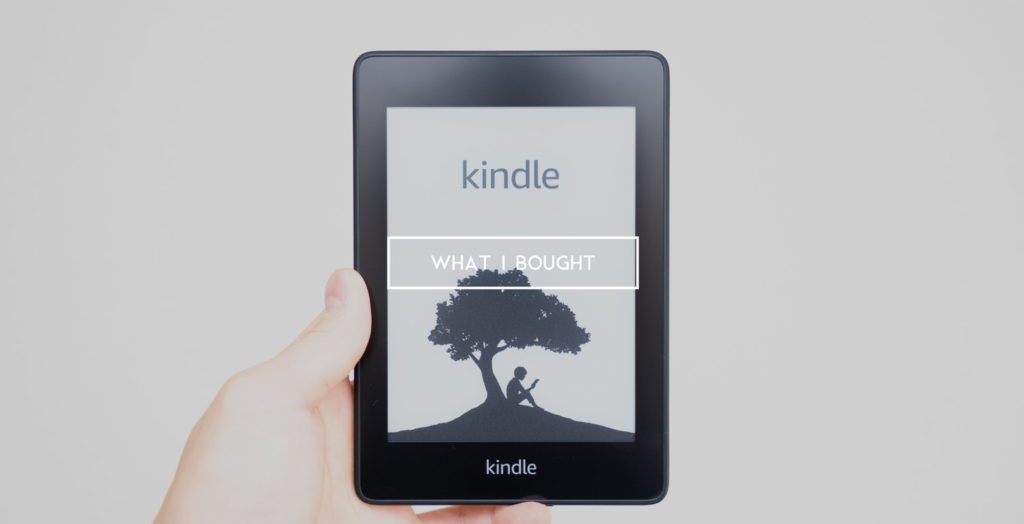 【2018年】僕が11月に買ったモノ:Kindle Paperwhite とか睡眠専用イヤホンなど