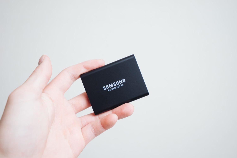 ポータブルSSD『Samsung 外付けSSD T5』2