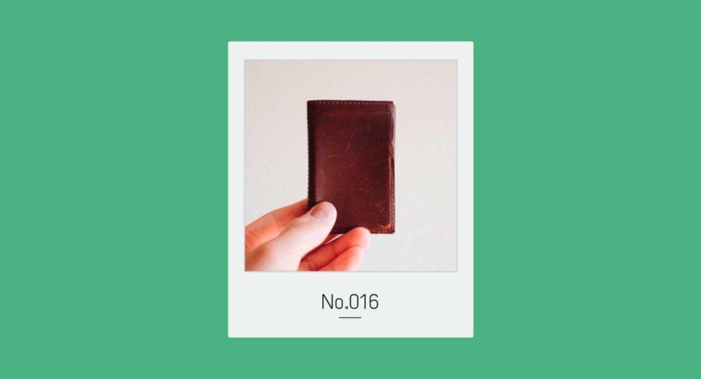 ミニマリズムとPRESSoの3つ折り財布|トバログのモノ語りNo.016