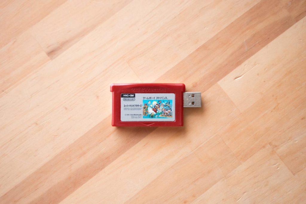 あの日の思い出を持ち歩く。ゲームボーイアドバンスソフトをUSBメモリに改造してみる