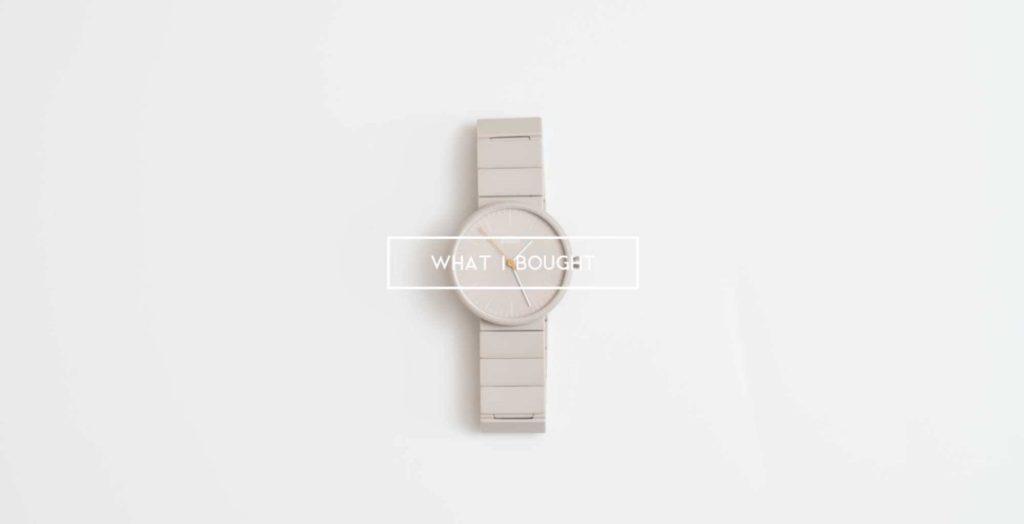 【2019年】僕が8月に買ったモノ:Braunの時計やサングラス、単焦点レンズなど