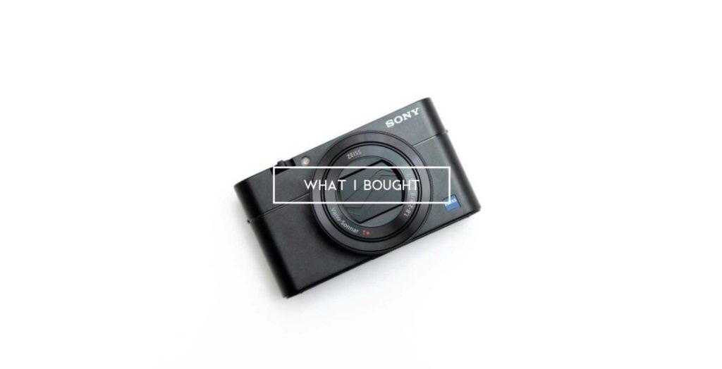【先月買ったモノ】ソニーのコンデジ『RX100M5A』やYouTuberセット